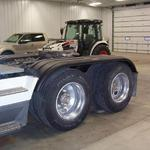 Minimizer fenders on a freightliner